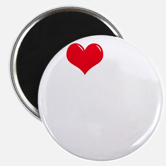 I-Love-My-Catahoula-dark Magnet