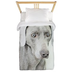 Weimaraner Twin Duvet Cover