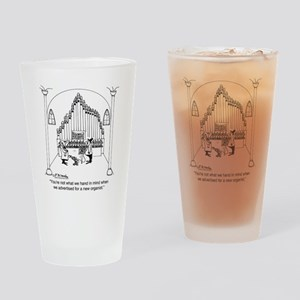 4754_organ_cartoon Drinking Glass