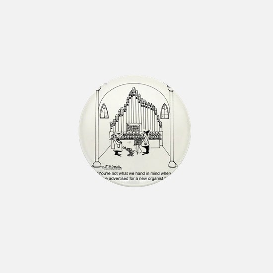 4754_organ_cartoon Mini Button
