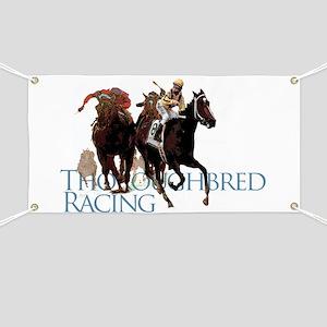 thoroughbred racing Banner