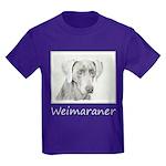 Weimaraner Kids Dark T-Shirt