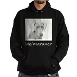 Weimaraner Hoodie (dark)