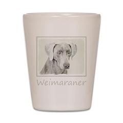 Weimaraner Shot Glass