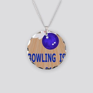 Bowling iPad Hard Case, My G Necklace Circle Charm