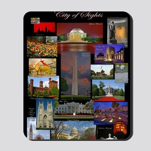 DC Collage Updated Mousepad