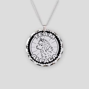 TeamAlpaca2 Necklace Circle Charm
