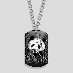 journalGrey Tone Panda Dog Tags