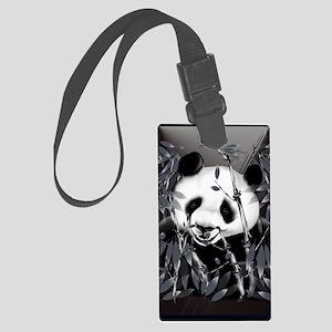 journalGrey Tone Panda Large Luggage Tag