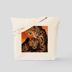 Fiery Embrace Tote Bag