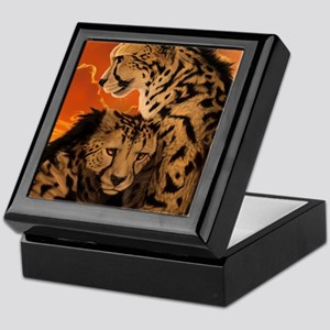 Fiery Embrace Keepsake Box