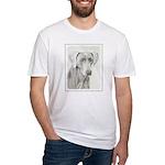 Weimaraner Fitted T-Shirt