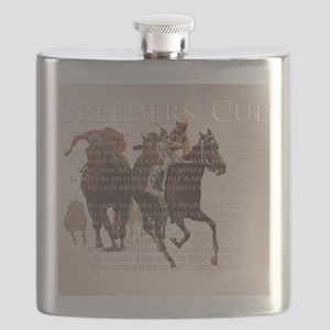 Breeders Cup Flask