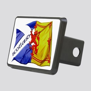 scotland saltire  lion ram Rectangular Hitch Cover