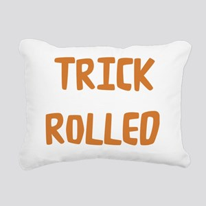 Trick Rolled Rectangular Canvas Pillow