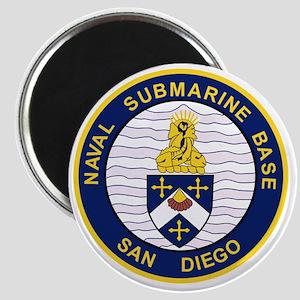 NAVAL SUBMARINE BASE San Diego CA Military  Magnet