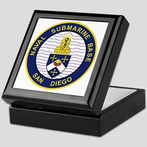 NAVAL SUBMARINE BASE San Diego CA Mil Keepsake Box