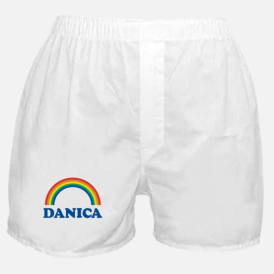 DANICA (rainbow) Boxer Shorts