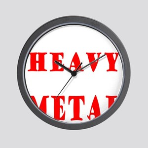 heavymetal Wall Clock