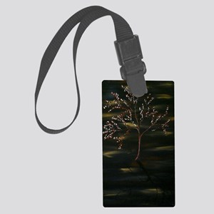 moon dance poster Large Luggage Tag
