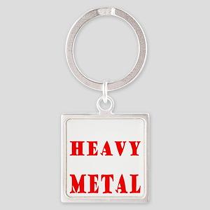 heavymetal Square Keychain