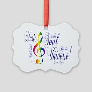 music Picture Ornament