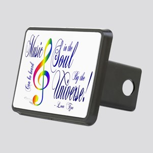 music Rectangular Hitch Cover
