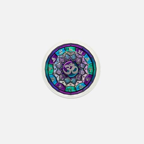 UROCK Independence Mandala Mini Button