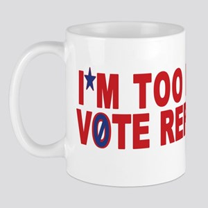 Too Poor to Vote Republican Mug