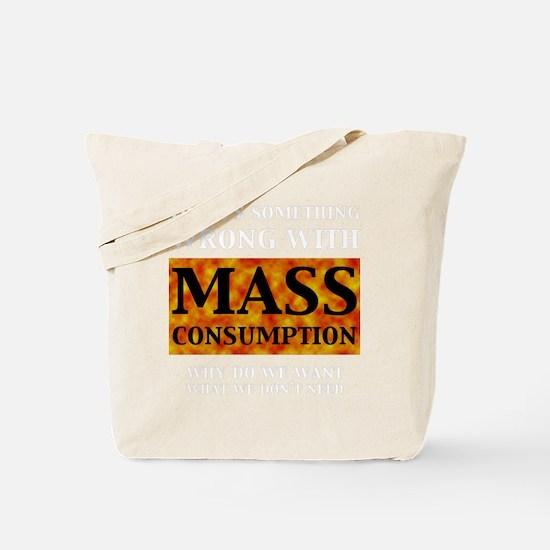 mass_black Tote Bag