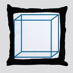 cube2 Throw Pillow