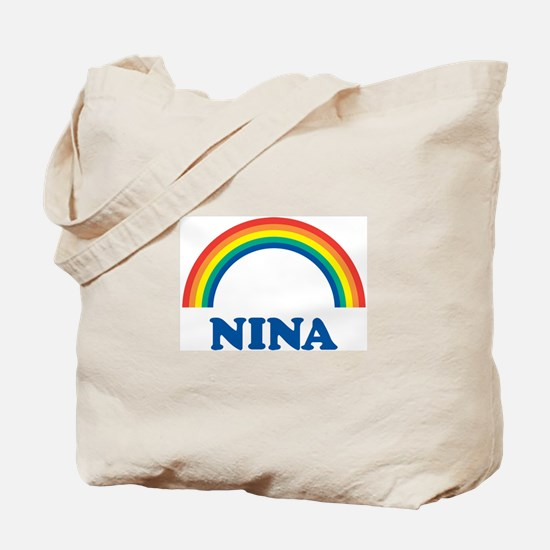 NINA (rainbow) Tote Bag