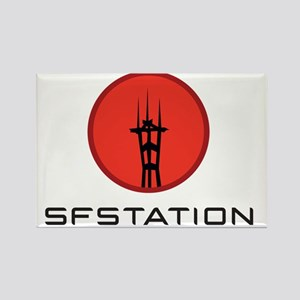 logo-sfs-black Rectangle Magnet
