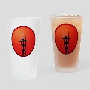 logo-sfs-circle-gradient Drinking Glass