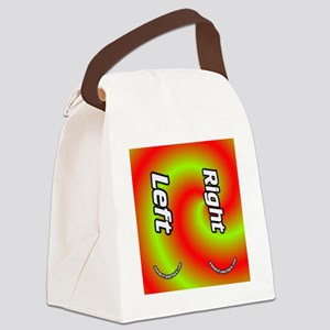 confusing Canvas Lunch Bag