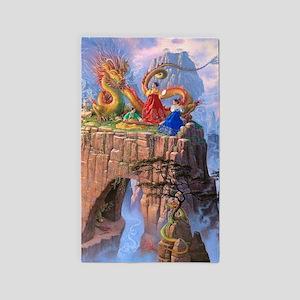 Dragon Serenade 3'x5' Area Rug