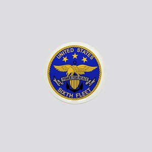 SIXTH FLEET US Navy Military PATCH Mini Button