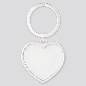 I Got Your Back Heart Keychain