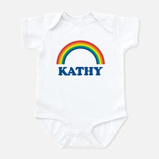 KATHY (rainbow) Infant Bodysuit