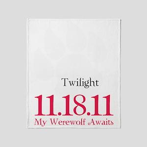 werewolfAwaits6 Throw Blanket