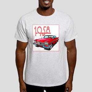 1958 Plymouth Belvedere-10 Light T-Shirt