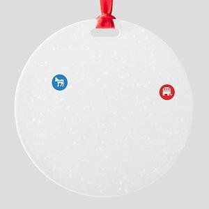 cp167 Round Ornament