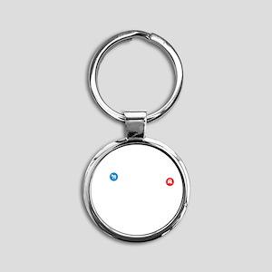 cp167 Round Keychain