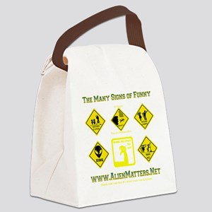 Many-Signs Canvas Lunch Bag