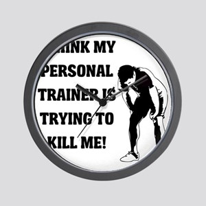 i-think-my-personal-trainer Wall Clock