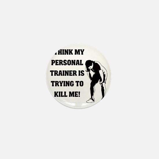 i-think-my-personal-trainer Mini Button