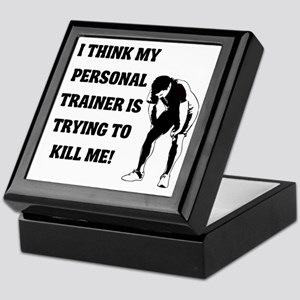i-think-my-personal-trainer Keepsake Box