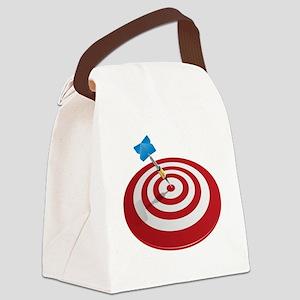 bullseye Canvas Lunch Bag