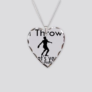 throw Necklace Heart Charm