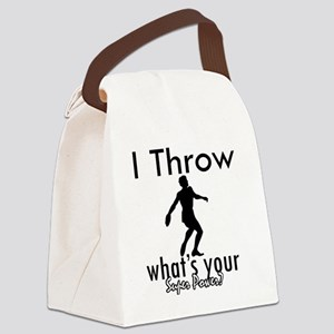 throw Canvas Lunch Bag